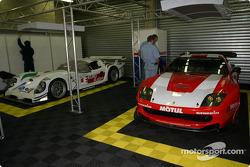 Le garage de Larbre Compétition