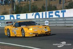 La Corvette C5-R n°64 du Corvette Racing (Oliver Gavin, Olivier Beretta, Jan Magnussen)