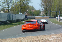 La Ferrari 550 Maranello n°65 de Prodrive Racing (Darren Turner, Colin McRae, Rickard Rydell)