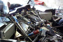 Le moteur diesel de la Lola Caterpillar n°10 du Taurus Sports Racing