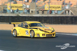 La Porsche 911 GT3 RS n°78 de PK Sport (Jim Matthews, David Warnock, Paul Daniels)