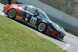 La Porsche 911 GT3 RS n°83 du Seikel Motorsport (Gabrio Rosa, Alex Caffi)