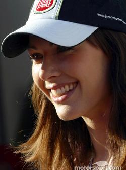 Jenson Button's girlfriend Louise