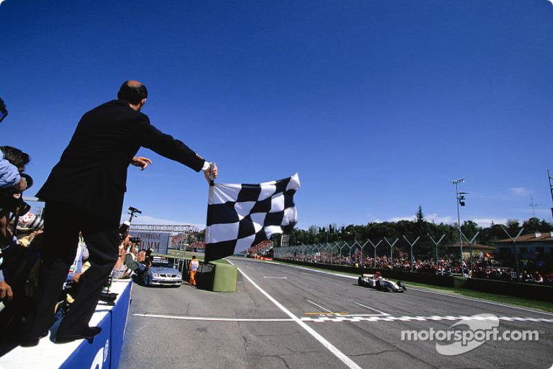 Segundo lugar Jenson Button, BAR-Honda