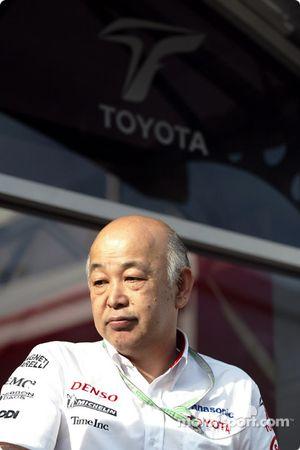 Le Vice-Président de Toyota Toshiro Kurusu