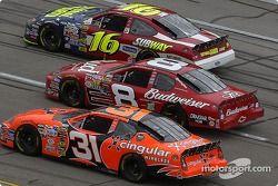 Greg Biffle, Dale Earnhardt Jr. et Robby Gordon
