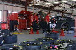 Le garage du Chip Ganassi Racing