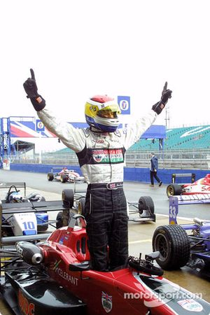 James Rossiter fête sa victoire