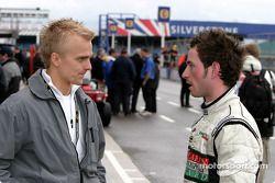 Heikki Kovalainen et Danny Watts
