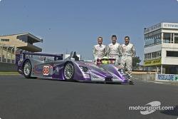 L'Audi R8 n°88 d'Audi Sport UK Team Veloqx (Jamie Davies, Guy Smith, Johnny Herbert)