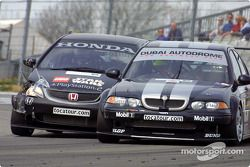 Tom Chilton et Colin Turkington