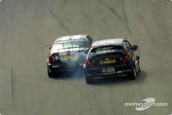 Colin Turkington bloque Tom Chilton
