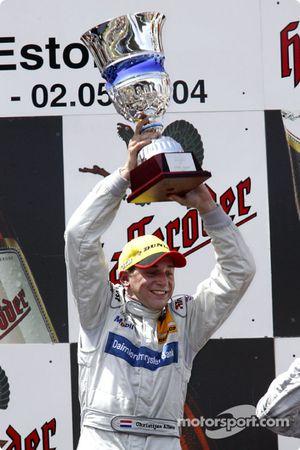 Podium: 1. Christijan Albers, Team HWA, AMG-Mercedes C-Klasse 2004
