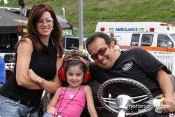 Tony Pedregon et sa famille