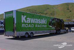 Un camion Kawasaki