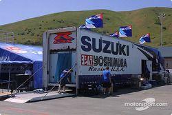 Un camion Suzuki