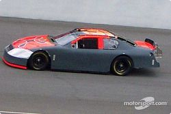 Robby Gordon tests his car