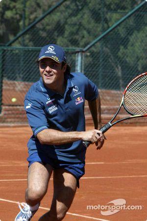 Tennis charity tournament, Open Sports Club Barcelona: Felipe Massa