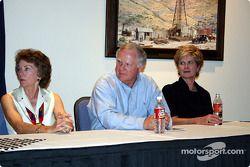 Sandy Hall, Paul Morris & Jane Phares