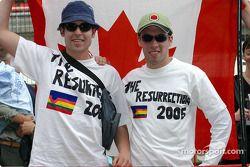 Jacques Villeneuve İspanyol taraftarı club