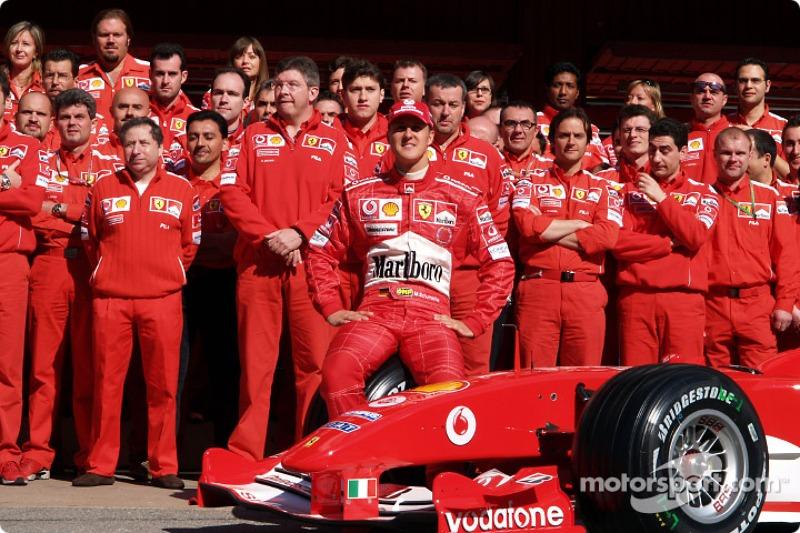 Michael Schumacher, Ferrari - 2004 - 18 yarışlık takvimin 14. yarışı (4 yarış kala)