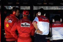 Michael Schumacher, Ferrari pitwall