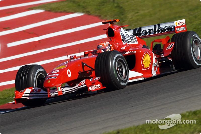 59. España 2004, Ferrari F2004