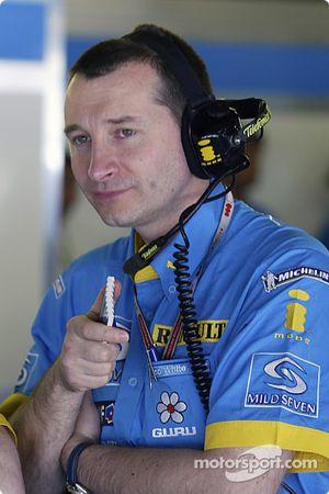 Renault F1 mühendis Rob White