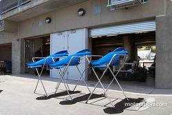 Des capots moteur pour l'une des Formule Ford Zetec