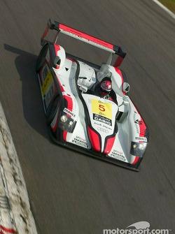 L'Audi R8 n°5 d'Audi Sport Japan Team Goh (Tom Kristensen, Seiji Ara, Rinaldo Capello)