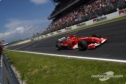 Михаэль Шумахер, победный финиш