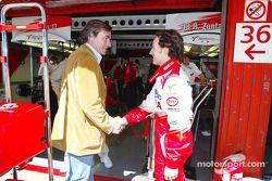 Carlos Sainz con Cristiano da Matta