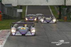 L'Audi R8 n°8 d'Audi Sport UK Team Veloqx (Allan McNish, Pierre Kaffer)