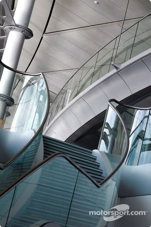 McLaren Technology Centre interior