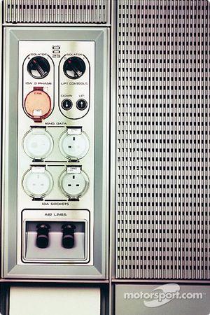 AMEC/McLaren kontrol paneli