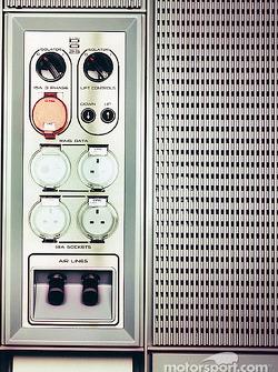 Des panels de contrôle conçus par AMEC/McLaren