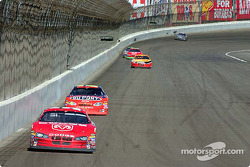 Kasey Kahne leads Jeff Gordon
