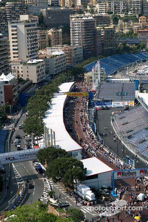 Le paysage de Monaco