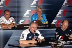 Thursday press conference: Patrick Head, Adrian Newey, Mike Gascoyne and Pat Symonds