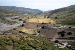 Un paysage sec à Chipre