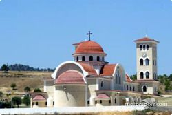 Une église chypriote typique