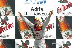 Podium: 1. Mattias Ekström, Team Abt Sportsline, Audi A4 DTM 2004