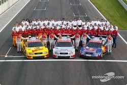 Das Audi-DTM-Werksteam