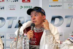 Conférence de presse pour le vainqueur Mattias Ekström