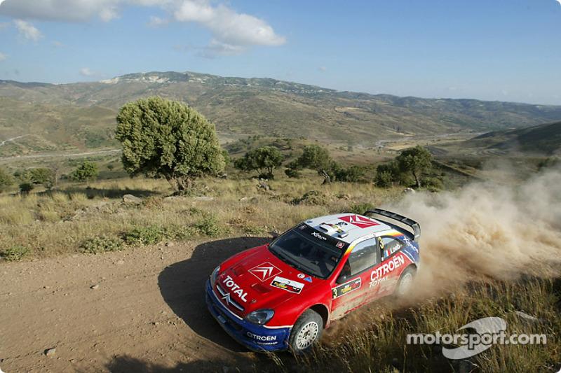 7. Rally de Chipre 2004: 65,60 km/h