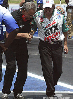 A proud pop: John Force