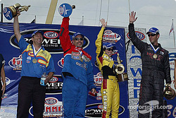 The winners: Greg Anderson, Clay Millican, Angelle Savoie and Whit Bazemore