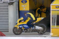 Max Biaggi's bike