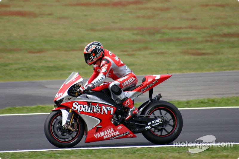 Carlos Checa, Gauloises Fortuna Yamaha, 2004