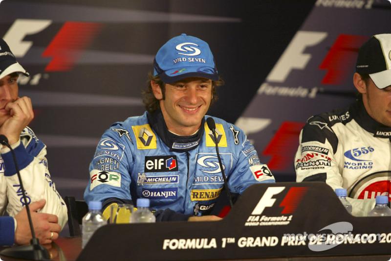 Press conference: pole winner Jarno Trulli